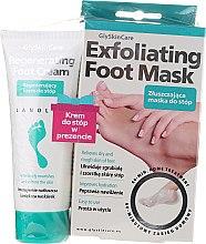 Fußpflegeset - GlySkinCare Foot Set (Fußcreme 75ml + Fußmaske 1 St.) — Bild N1