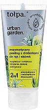 Düfte, Parfümerie und Kosmetik Enzymatisches Hand- und Nagelhautpeeling - Tolpa Urban Garden Enzymatic Peeling For Hands & Cuticles