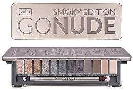 Düfte, Parfümerie und Kosmetik Lidschattenpalette - Wibo Go Nude Smoky Edition