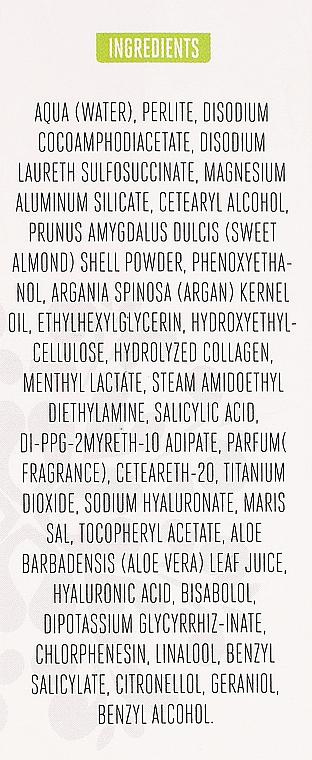 Gesichtspeeling mit Kollagen und Arganöl - Arganicare Collagen Boost Exfoliating Scrub — Bild N3