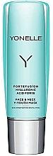 Düfte, Parfümerie und Kosmetik Straffende und aufhellende Maske für Gesicht und Hals - Yonelle Fortefusion Hyaluronic Acid Forte Face & Neck Y-Youth Mask