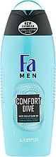 """Düfte, Parfümerie und Kosmetik 2in1 Duschgel & Shampoo """"Comfort Dive"""" für Männer - Fa Men Comfort Dive Shower Gel"""