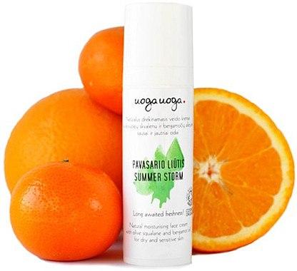 Feuchtigkeitsspendende Gesichtscreme - Uoga Uoga Natural Moisturising Face Cream — Bild N1