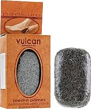 Düfte, Parfümerie und Kosmetik Bimsstein 98x58x37 mm dunkelgrau - Vulcan Pumice Stone