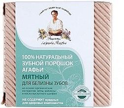 100% Natürliches aufhellendes Zahnpulver mit Minzextrakt - Rezepte der Oma Agafja — Bild N4