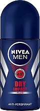 Düfte, Parfümerie und Kosmetik Roll-on Antiperspirant Deodorant - Nivea Men Dry Impact Deodorant Roll-On