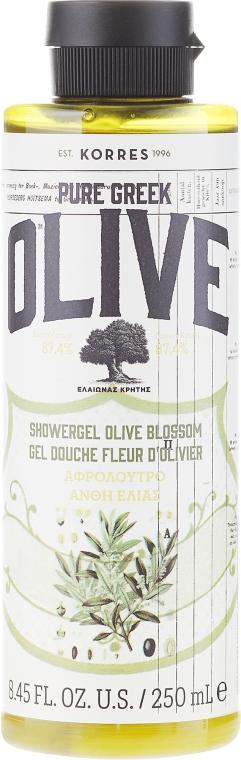 Straffendes Duschgel mit Olivenblattextrakt - Korres Pure Greek Olive Blossom Shower Gel — Bild N1