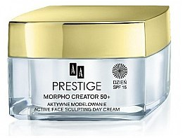 Düfte, Parfümerie und Kosmetik Modellierende Tagescreme für das Gesicht 50+ SPF 15 - AA Prestige Morpho Creator 50+ Active Face Sculpting Day Cream SPF15