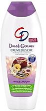Düfte, Parfümerie und Kosmetik Duschgel Vanille & Pflaume - CD CremeDusche