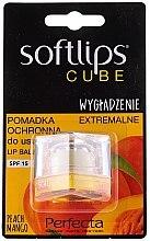 Düfte, Parfümerie und Kosmetik Lippenbalsam mit Pfirsich und Mango SPF 15 - Perfecta Softlips Peach Mango