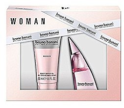 Düfte, Parfümerie und Kosmetik Bruno Banani Woman - Duftset (Eau de Toilette 20ml + Duschgel 50ml)
