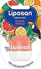 Düfte, Parfümerie und Kosmetik Lippenbalsam Grapefruit und Passionsfrucht - Liposan Pop Ball