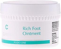 Düfte, Parfümerie und Kosmetik Fußsalbe mit pflanzlichem Harz - Clarena Podo Rich Foot Ointment