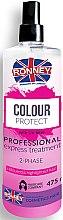 Düfte, Parfümerie und Kosmetik Zwei-Phasen-Spray für gefärbtes Haar - Ronney Color Protect Professional Express Treatment 2-Phase