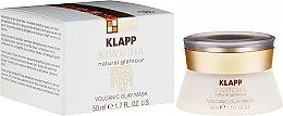 Düfte, Parfümerie und Kosmetik Cremige Gesichtsmaske mit Sacha Inchi-Öl und Lavaerde - Klapp Kiwicha Volcanic Clay Mask
