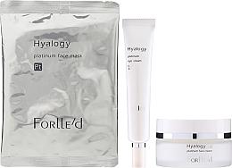 Düfte, Parfümerie und Kosmetik Gesichtspflegeset - ForLLe'd Platinum (Gesichtscreme 50g + Augencreme 9g + Gesichtsmaske)