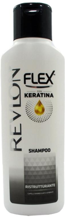 Shampoo mit Keratin - Revlon Flex Keratina Ristrutturante Shampoo — Bild N1
