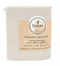 Düfte, Parfümerie und Kosmetik Massagekerze Coconut Nutrition - Flagolie Coconut Nutrition Massage Candle