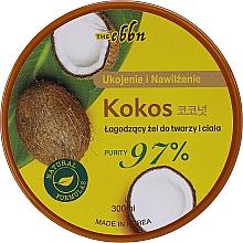 Düfte, Parfümerie und Kosmetik Beruhigendes Gesichts- und Körpergel mit Kokosnuss - The Ebbn Soothing Face & Body Gel Coconut 97%