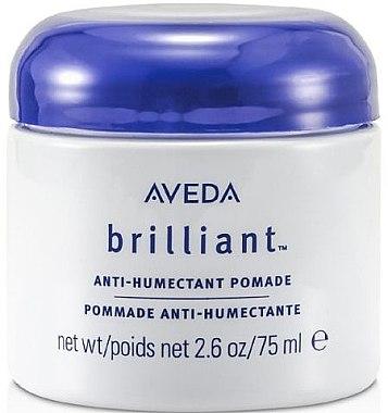 Seidenartige Haarpomade mit Rizinus- und Reiskleieöl - Aveda Brilliant Anti-Humectant Pomade — Bild N1