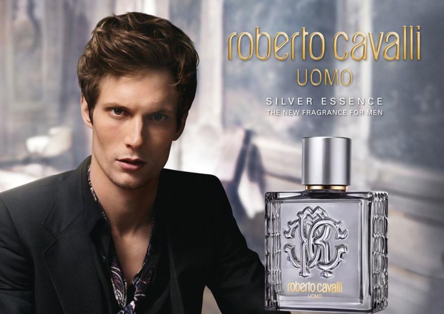 Roberto Cavalli Uomo Silver Essence - Duschgel — Bild N3