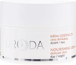 Düfte, Parfümerie und Kosmetik Nährende Gesichtscreme für Tag und Nacht für empfindliche Haut - Uroda Nourishing Face Cream For Sensitive Skin