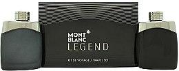 Düfte, Parfümerie und Kosmetik Montblanc Legend - Duftset (Eau de Toilette/100ml + After Shave Lotion/100ml)