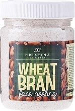 Düfte, Parfümerie und Kosmetik Gesichtspeeling mit Weizenkleien - Hristina Cosmetics Wheat Bran Face Peeling