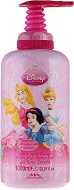 Dusch- und Badegel für Kinder mit Himbeerduft - The Beauty Care Company Princess Bath & Shower Gel — Bild N1