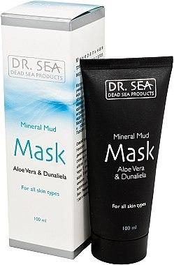 Schlammmaske für das Gesicht mit Aloe Vera und Dunaliella salina - Dr. Sea Mineral Mud Mask — Bild N1