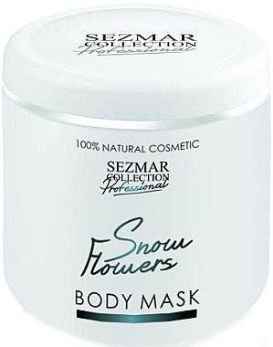 Gesichts- und Körpermaske Schneeblumen - Hristina Cosmetics Sezmar Professional Body Mask Snow Flowers — Bild N1