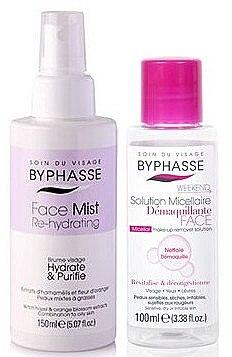Gesichtspflegeset - Byphasse Micellar Make-up Remover Set (Mizellen-Reinigungswasser 100 ml + Gesichtsspray 150/ml) — Bild N1