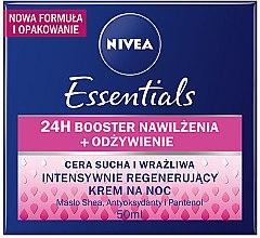Düfte, Parfümerie und Kosmetik Regenerierende Nachtcreme für trockene Haut - Nivea Rich Regenerating Night Care