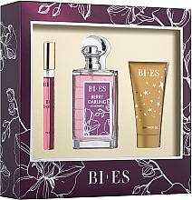 Düfte, Parfümerie und Kosmetik Bi-Es Berry Darling - Duftset (Eau de Parfum 100ml + Eau de Parfum 12ml + Duschgel 50ml)