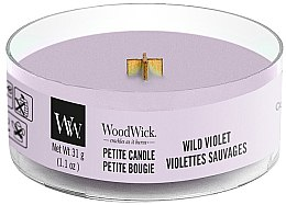 Düfte, Parfümerie und Kosmetik Mini Duftkerze im Glas Wild Violet - Woodwick Petite Candle Wild Violet