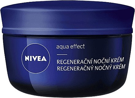 Regenerierende Nachtcreme - Nivea Aqua Effect — Bild N3