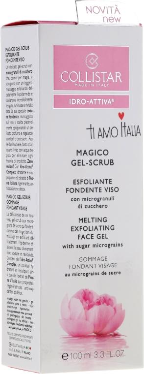 Gesichtsgel-Scrub mit Zucker-Mikropartikeln - Collistar Idro Attiva Magico Gel Scrub — Bild N2