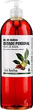 Düfte, Parfümerie und Kosmetik Duschgel für die Intimhygiene - Tot Herba Shower Gel Intimate Hygiene Walnut