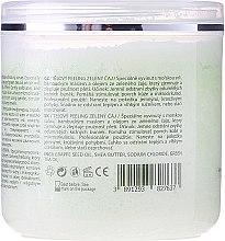Körperpeeling mit Meersalz, Sheabutter und Grünteeöl - Hristina Cosmetics Sezmar Professional Body Scrub Green Tea — Bild N2