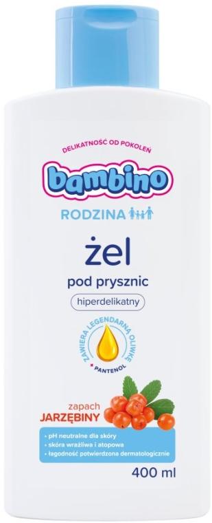 Duschgel für Kinder und Erwachsene mit Eberesche-Duft - Bambino Family — Bild N1