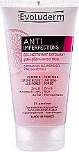 Düfte, Parfümerie und Kosmetik Gesichtsreinigungsgel - Evoluderm Anti Imperfections Exfoliating Cleansing Gel