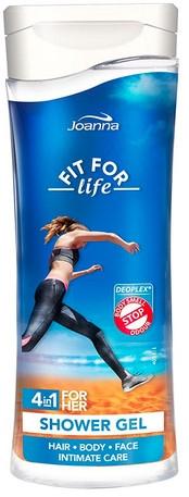 "Duschgel ""Fit for life"" 4 in 1 - Joanna Fit For Life 4in1 Shower Gel For All Body Odour Stoper For Women — Bild N1"