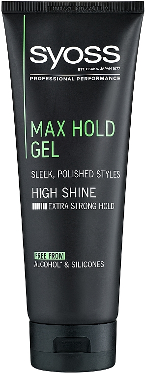 Styling-Gel extra starker Halt - Syoss Max Hold