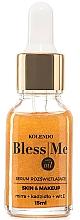 Düfte, Parfümerie und Kosmetik Pflegendes Gesichtsserum für mehr Glanz mit Geranie, Myrrhen- und Weinrauchöl - Bless Me Cosmetics Saint Oil Illuminating Serum