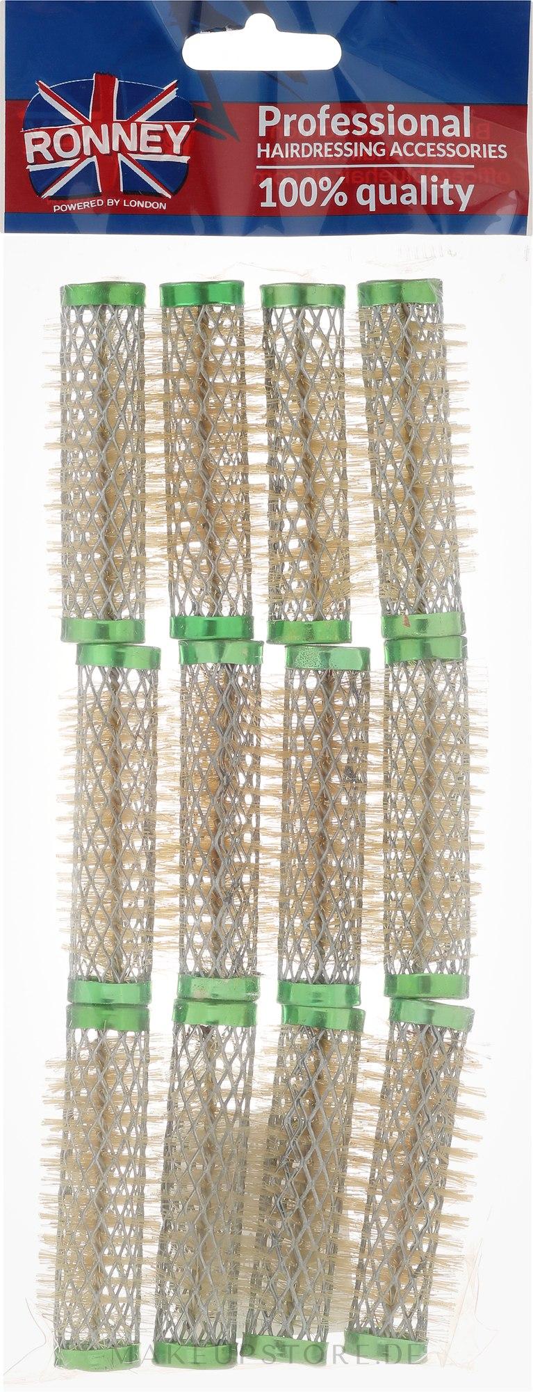 Drahtwickler 15/63 mm grün - Ronney Wire Curlers — Bild 12 St..