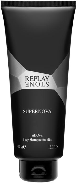 Replay Stone Supernova Man Body Shampoo - Duschgel — Bild N1