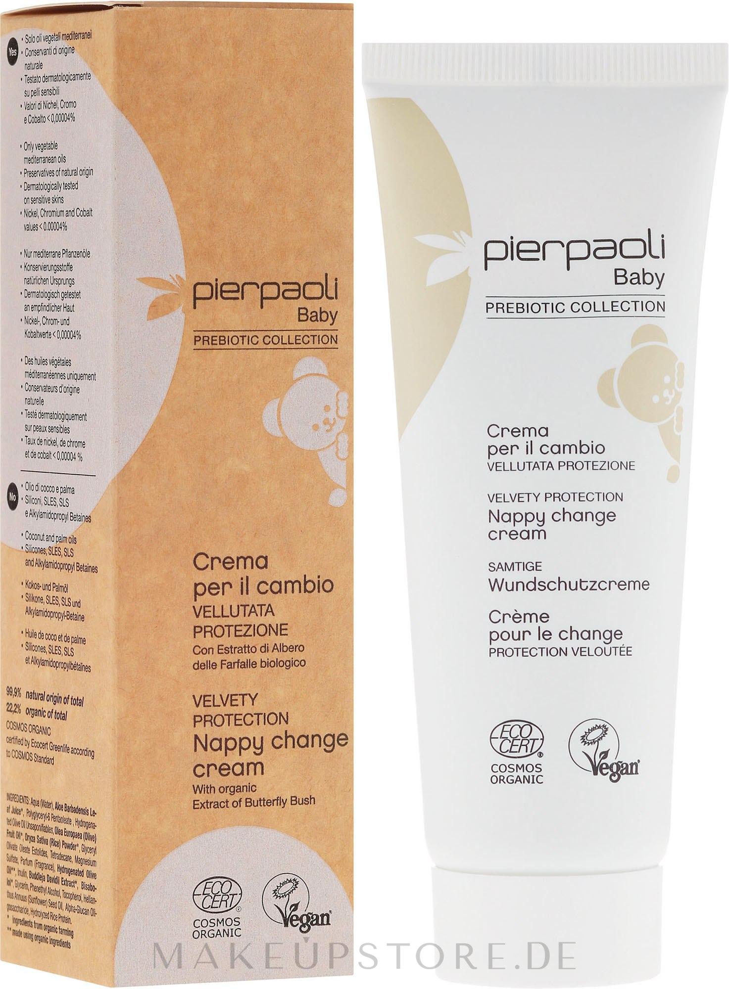 Samtige Wundschutzcreme für Babys - Pierpaoli Baby Care Nappy Change Cream — Bild 75 ml
