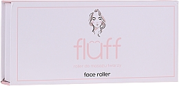 Massageroller für das Gesicht aus weißem Nephrit - Fluff Face Roller — Bild N2
