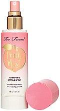 Düfte, Parfümerie und Kosmetik Mattierendes Gesichtsspray mit Pfirsich und süßer Feigencreme - Too Faced Peach Mist Setting Spray