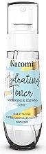 Düfte, Parfümerie und Kosmetik Beruhigendes und feuchtigkeitsspendendes Gesichtstonikum - Nacomi Hydrating Moisturizing & Soothing Tonic